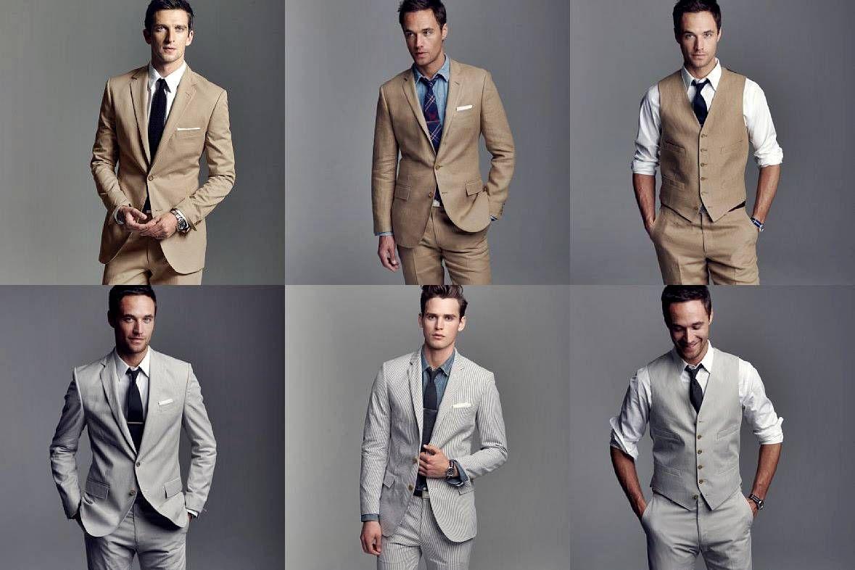 Grey Mens Wedding Suits - Ocodea.com