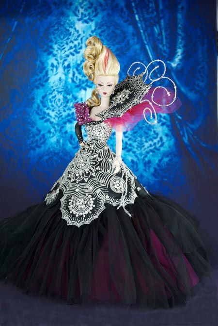 MAGIC FORTUNE HALLOWEEN BY Magia2000 of Mario Paglino and Gianni Grossi, from Italy.  Donated to the 2014 Barbie National Convention in Nashville, and bidded at the Live Auction for $6000,00.