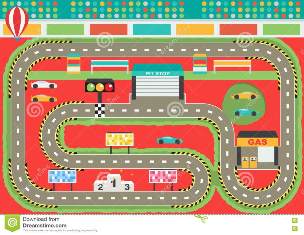 Car Race Track Background Cartoon Google Search Race Track Sports Car Racing Sports Cars