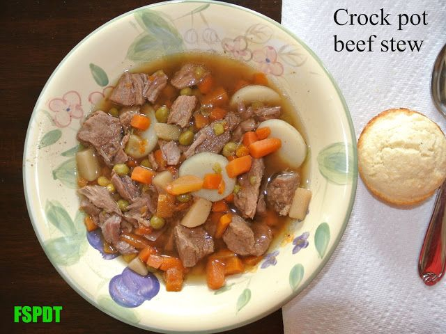 Crock Pot Beef Stew. | Kids cooking recipes, Beef stew ...