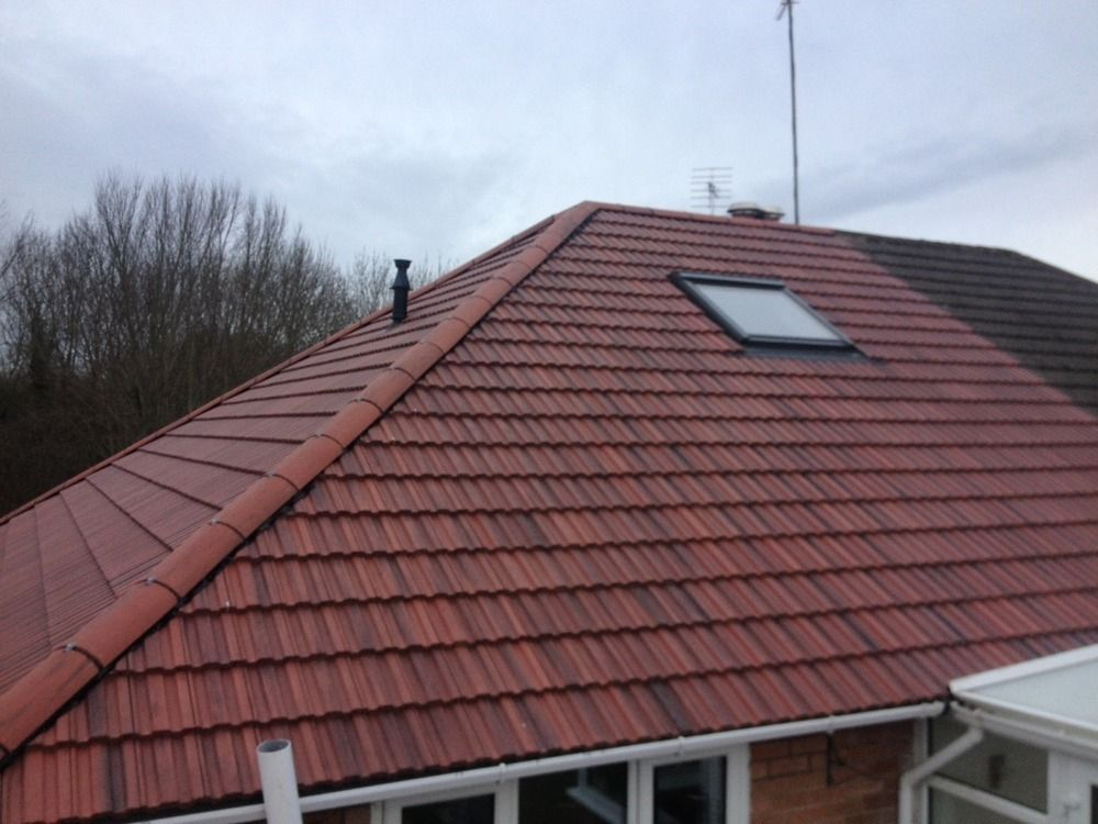 Roofing Job With Old English Marley Tiles By J Building