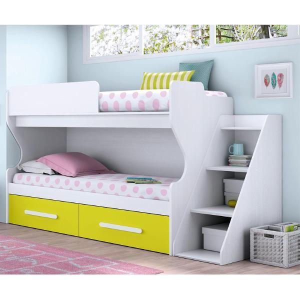 Juvenil tifon litera cama nido modulo escalera barato for Cama nido precios baratos