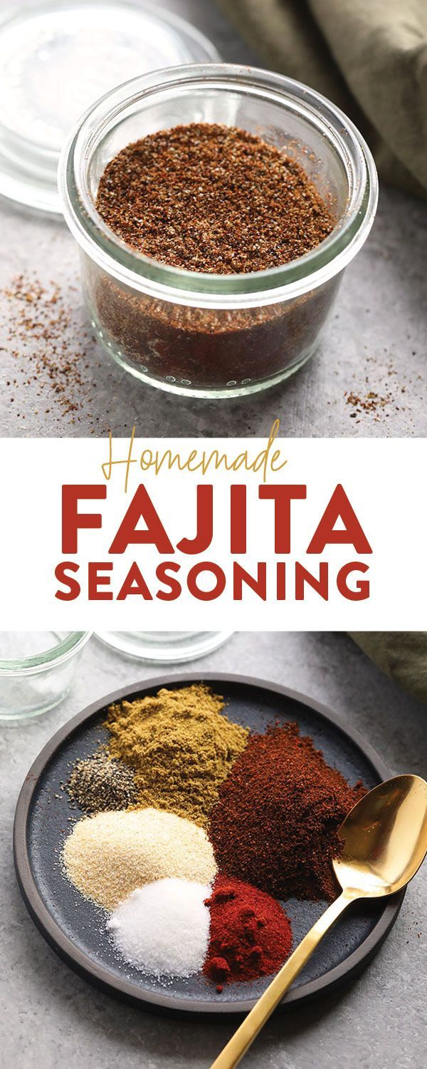 Make your own all-purpose fajita seasoning at home with just 6 basic spices! You can use our homemade fajita seasoning recipe on chicken, steak, veggies, ...