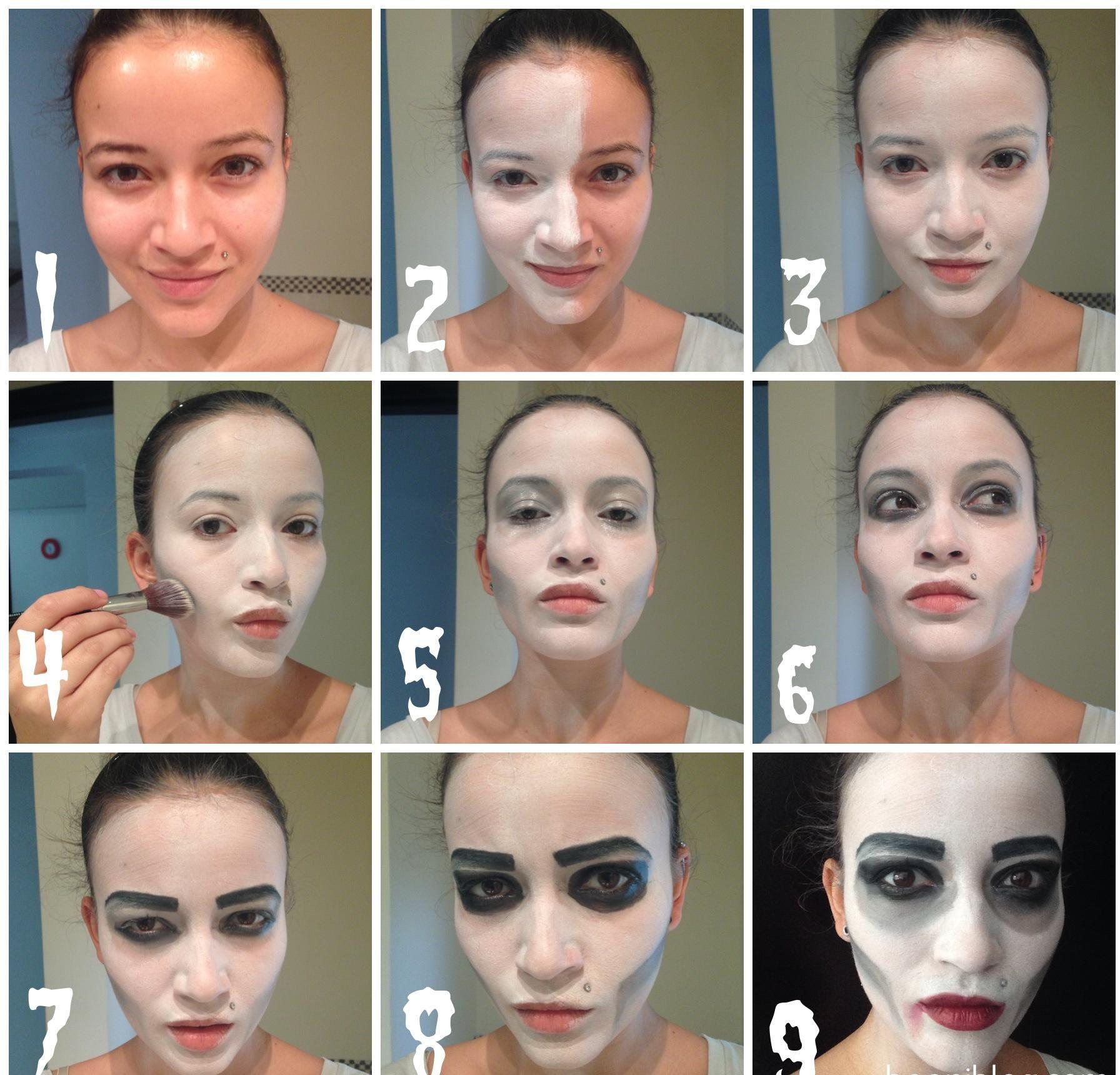 Halloween _makeup_ tutorials_www.Fashionends.com (7) | race ...