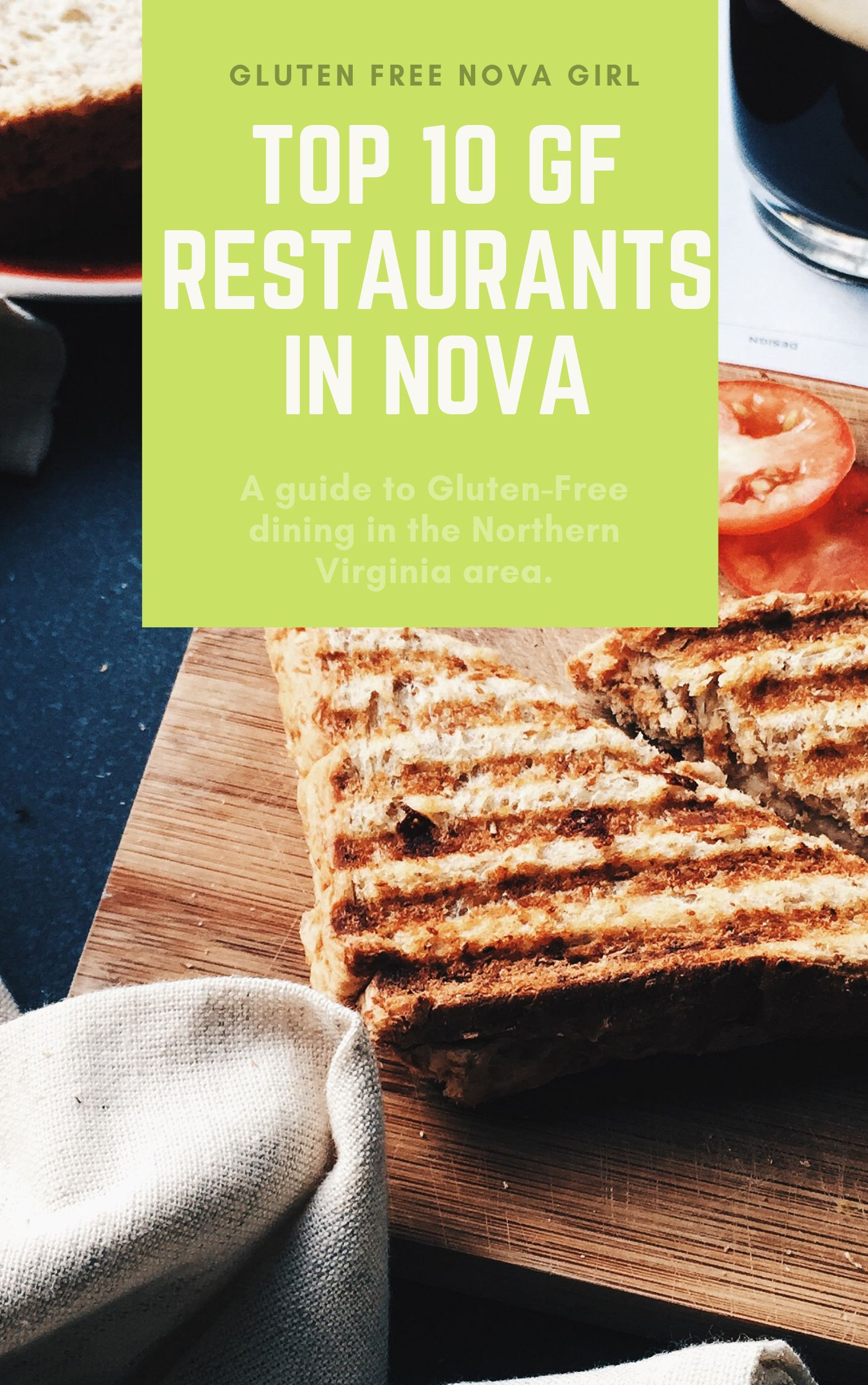 Join The Gf Nova Girl Mailing List And Download My Free Guide To Gf Restaurants In The Northern Virginia Area Gluten Free Restaurants Restaurant Nova