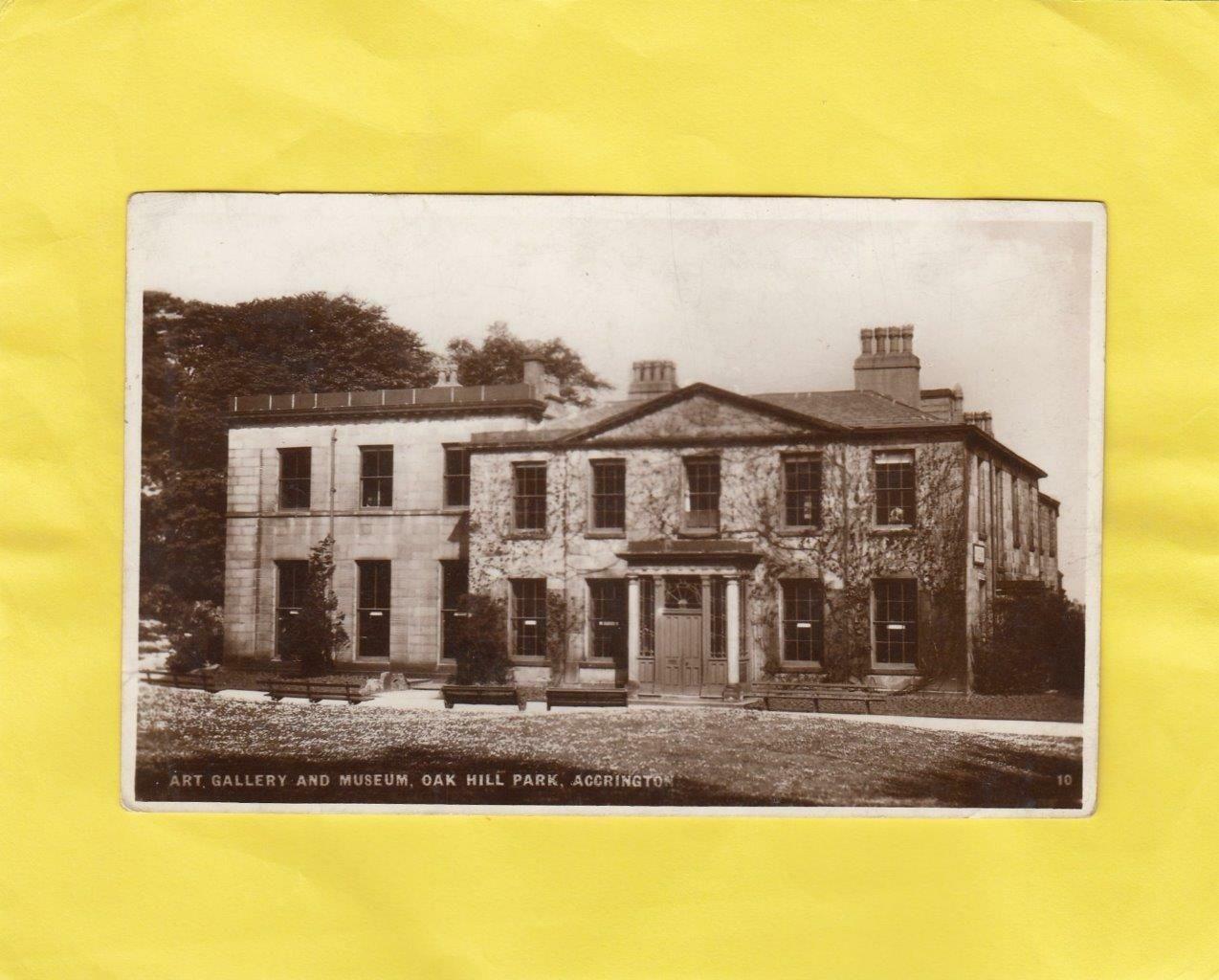 ACCRINGTON Oak Hill Park Lancashire ( Hm22 ) eBay in