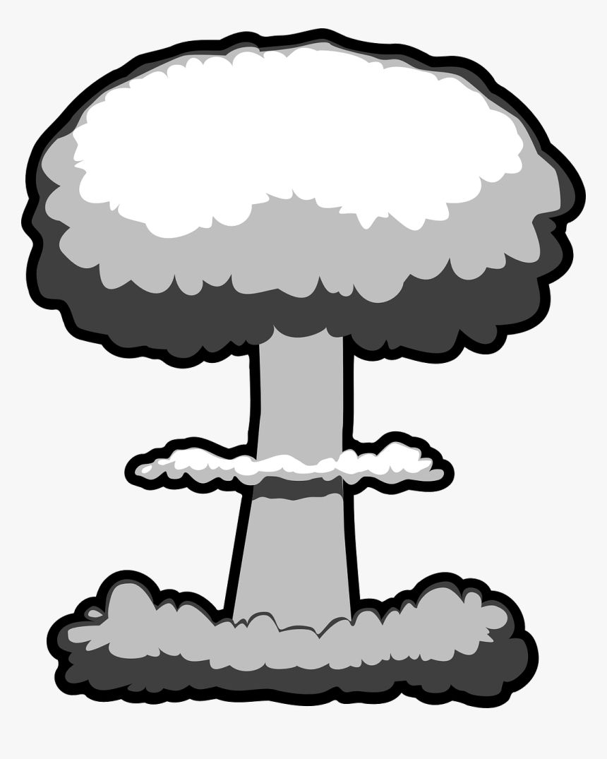 Atomic Bomb Clipart In 2021 Clip Art Image Cloud Clouds