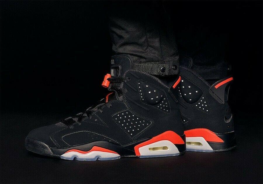 Jordan Retro 6 Infrared 2019 Fashion Clothing Shoes Accessories Mensshoes Athleticshoes Ebay Link Nike Air Jordan 6 Retro Basketball Shoes Air Jordans