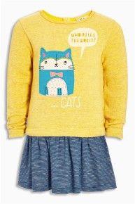 Ochre Cat Tunika