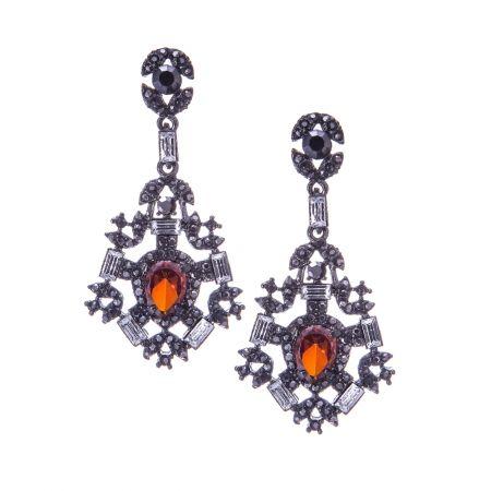 Pierre Winter, Gatsby earrings - hardtofind.