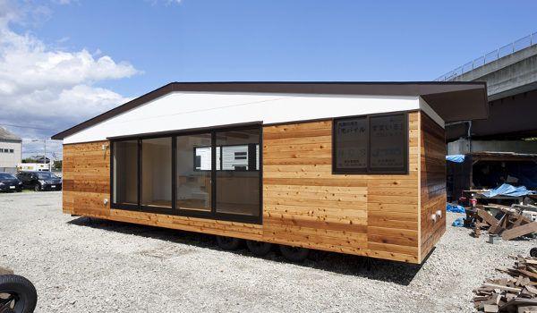 Casa m vil sobre ruedas de atelier tekuto taller de - Casas modulares moviles ...