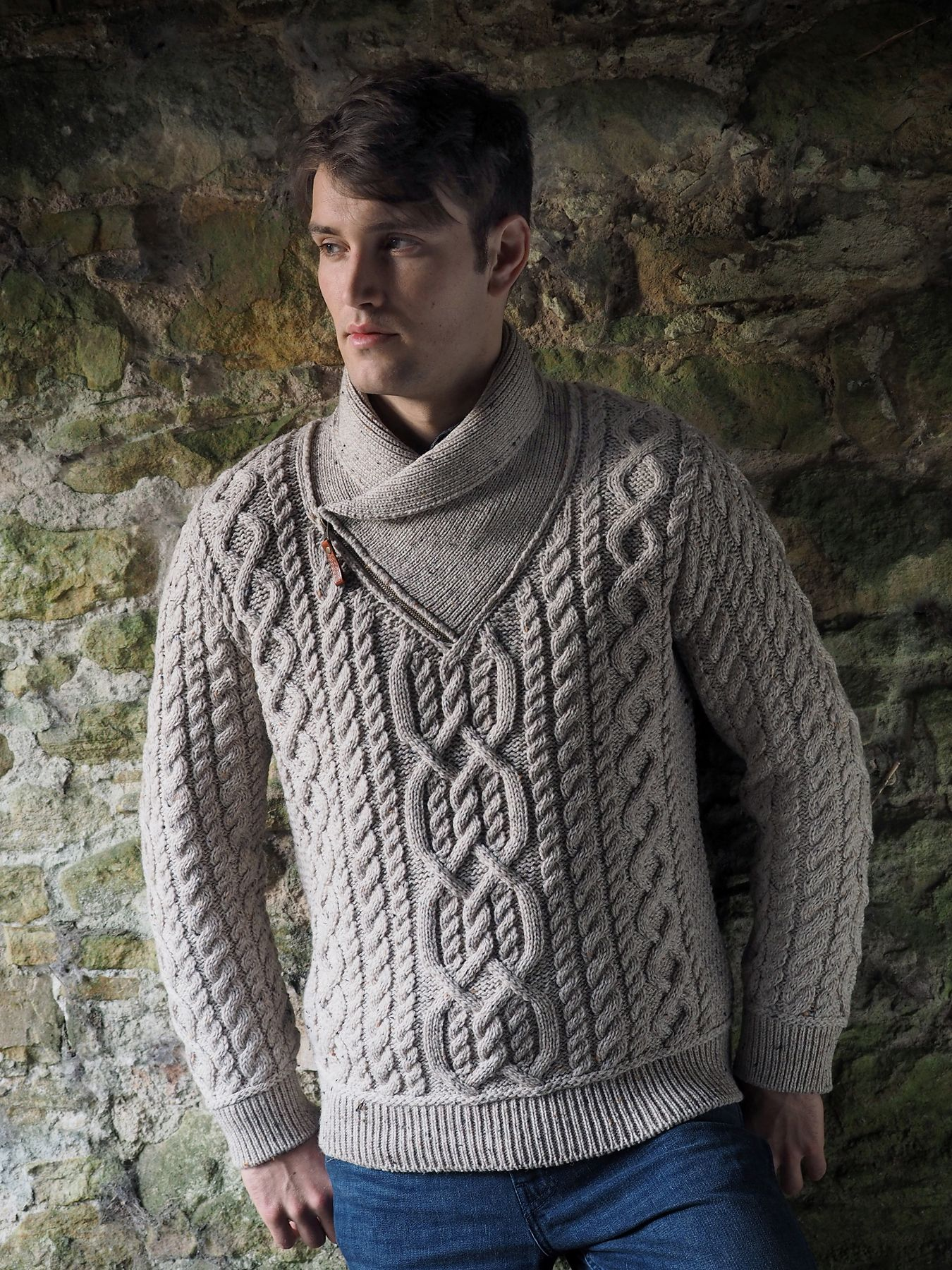Side zip mens aran sweater by natallia kulikouskaya for side zip mens aran sweater by natallia kulikouskaya for arancrafts of ireland bankloansurffo Gallery