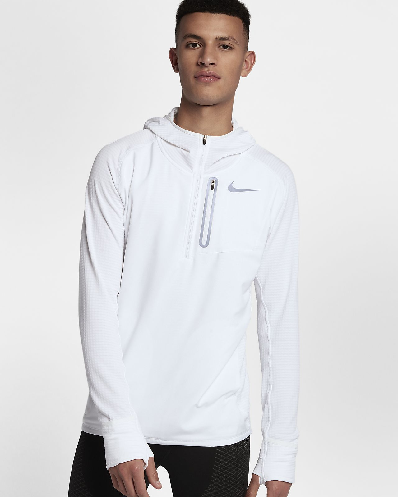 9e710aa7007c Nike Therma Sphere Element Hybrid Men s Half-Zip Running Hoodie ...