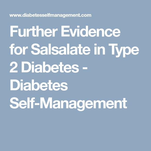 diabetes salsalate