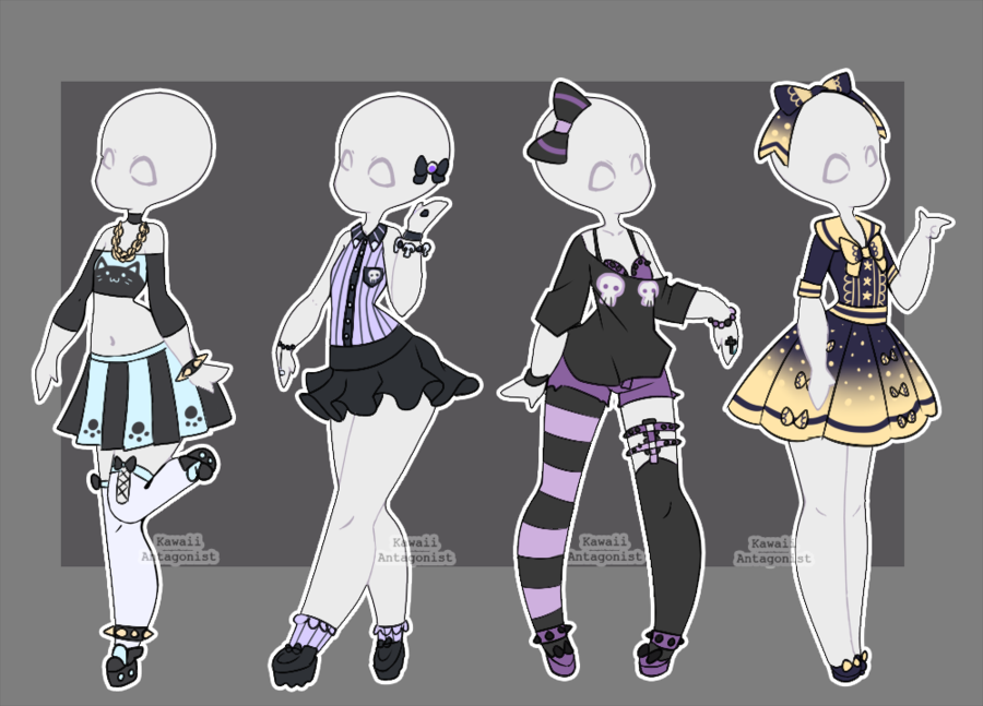 Gacha outfits 25 by on