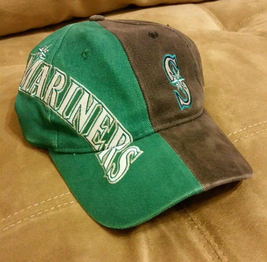 96cc81fe6fd Seattle Mariners MLB Baseball Hat from Drew Pearson Script Cap Free  Shipping