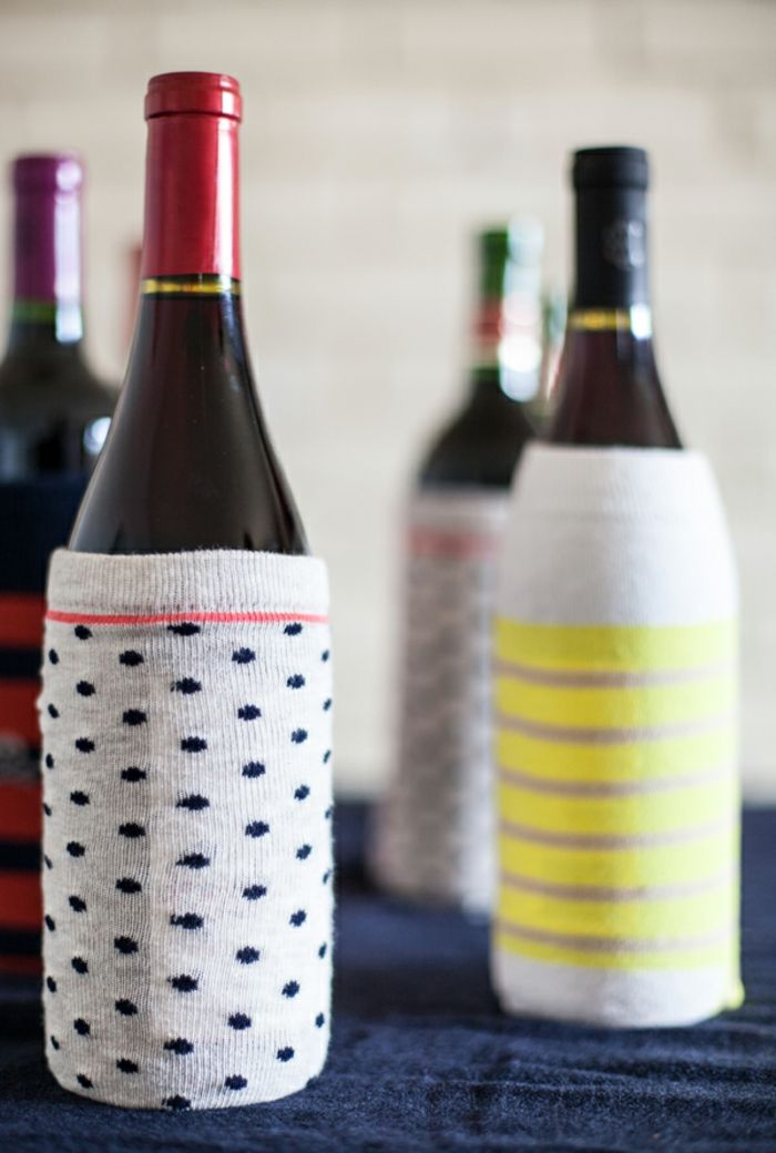 ▷ 1001 + Ideen für Flasche verpacken zum Entlehnen | Flaschen, Diy ...