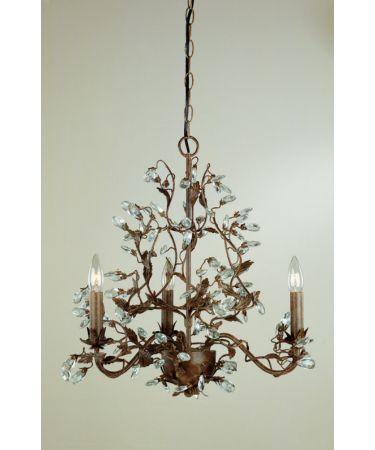 Laura Ashley Chella cream five light chandelier | 5 light