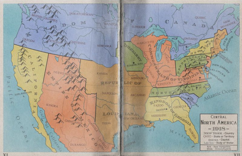 Maps Of An Alternate North America That Never Became The United