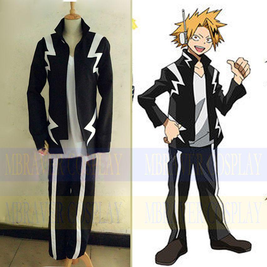 >> Click to Buy << Anime Boku no Hero Academia My Hero Academia Kaminari Denki Cosplay costume customize #Affiliate