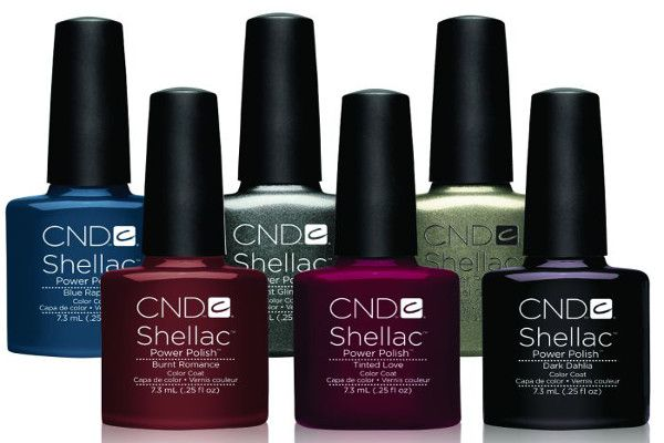 Cnd Shellac Quotforbidden Collectionquot Six Stunning Autumn