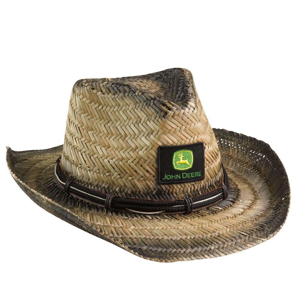 60528bcb0cabe John Deere Straw Hat408.446.8370 Farm Toys