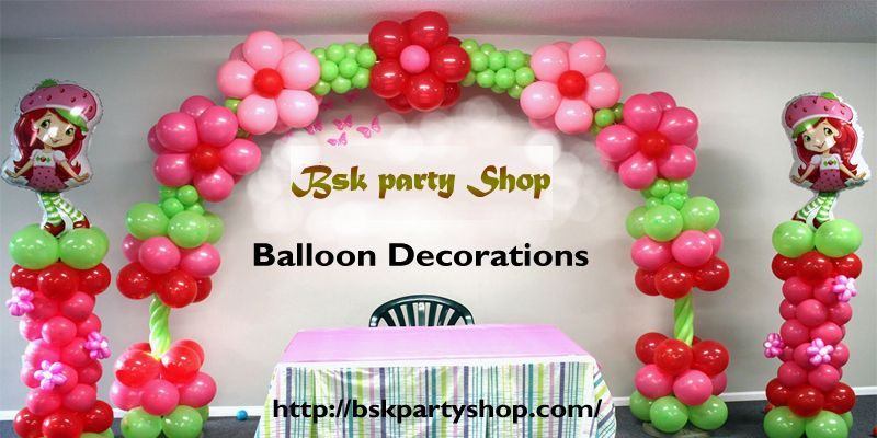 Buy Balloons Decorations Items For Kids Birthday Party Online Wholesale