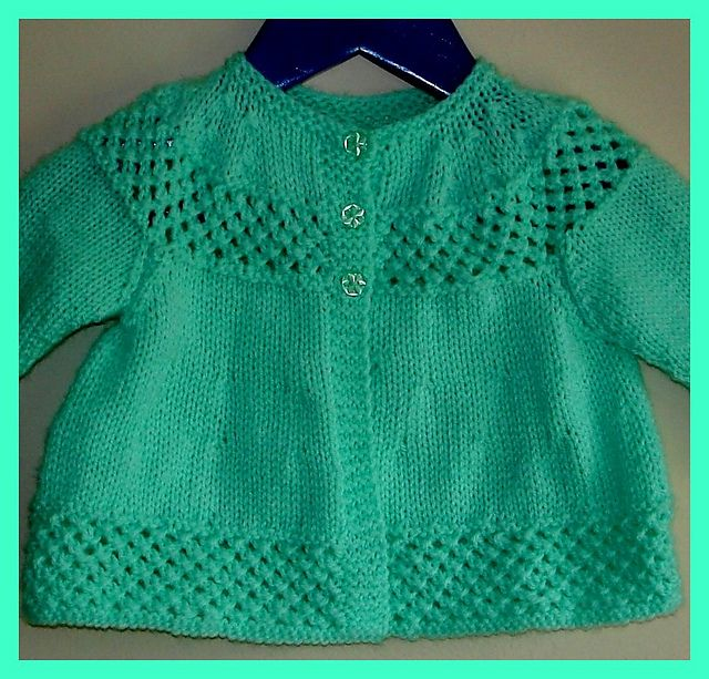 3c27444f438f Ravelry  marianna-mel s Vintage Knitting Pattern Baby Matinee Jacket ...