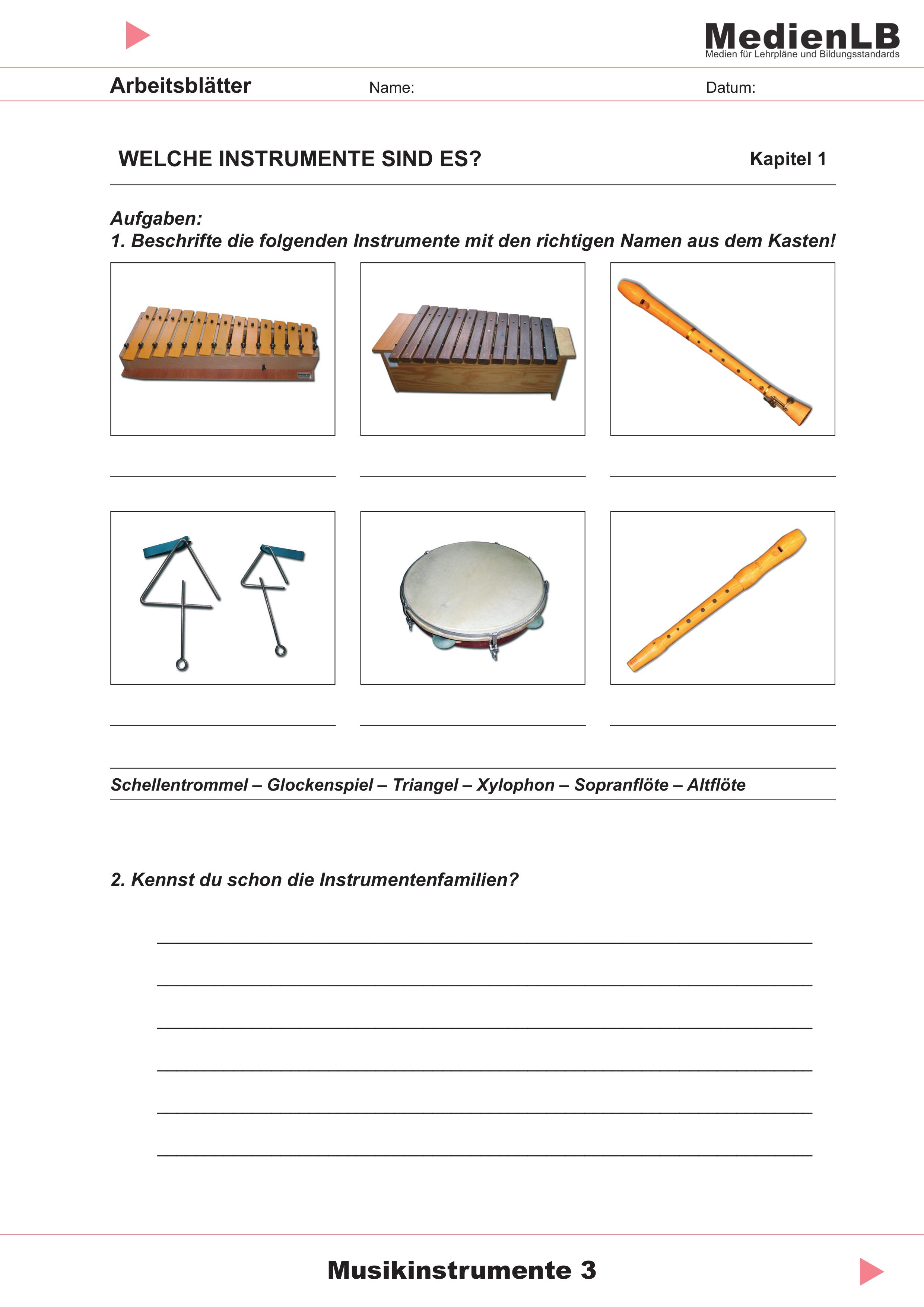 Mit Orff Instrumenten Fabeln Und Balladen Vertonen Unterrichtsmaterial Im Fach Musik Orff Instrumente Musik Lernen Kreativer Unterricht