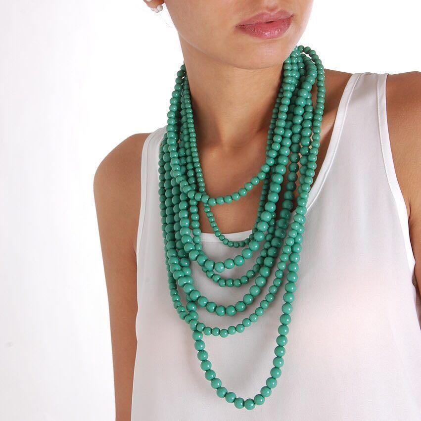 Bold beads #xo  Shop them: http://ift.tt/1YOr69M