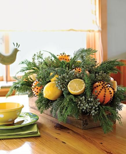 Nature Inspired Christmas Decorations Christmas Table Decorations Christmas Floral Natural Holiday Decor
