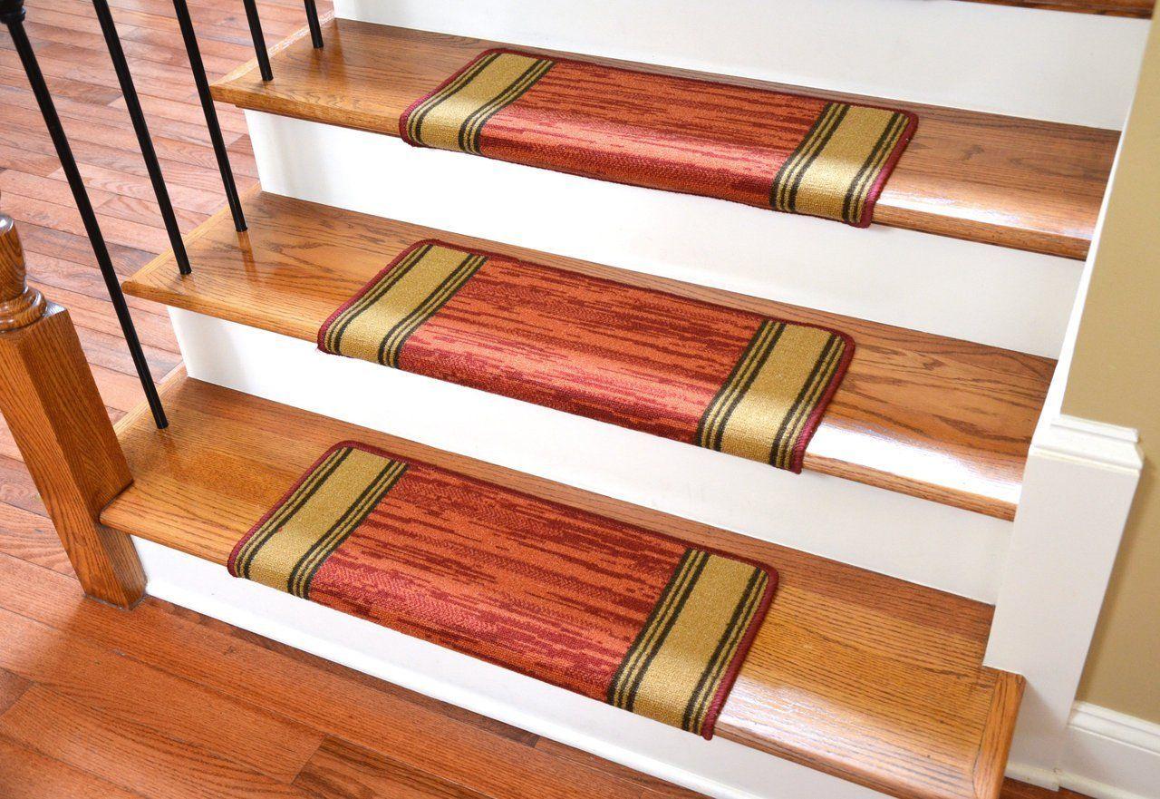 Best Dean Bullnose Non Skid Carpet Stair Treads Set Of 13 640 x 480