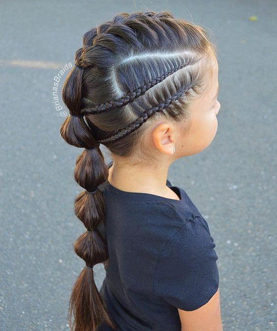 Épinglé par Moi sur Idée coiffure enfant   Coiffure fillette facile, Coiffure fillette, Cheveux ...