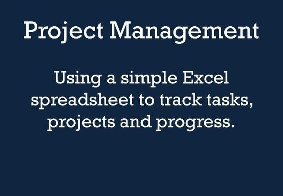 Project Management One of the secrets to my success has been the