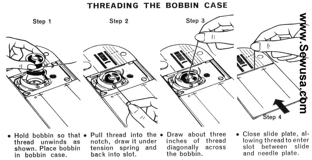 singer 538 sewing machine threading diagram