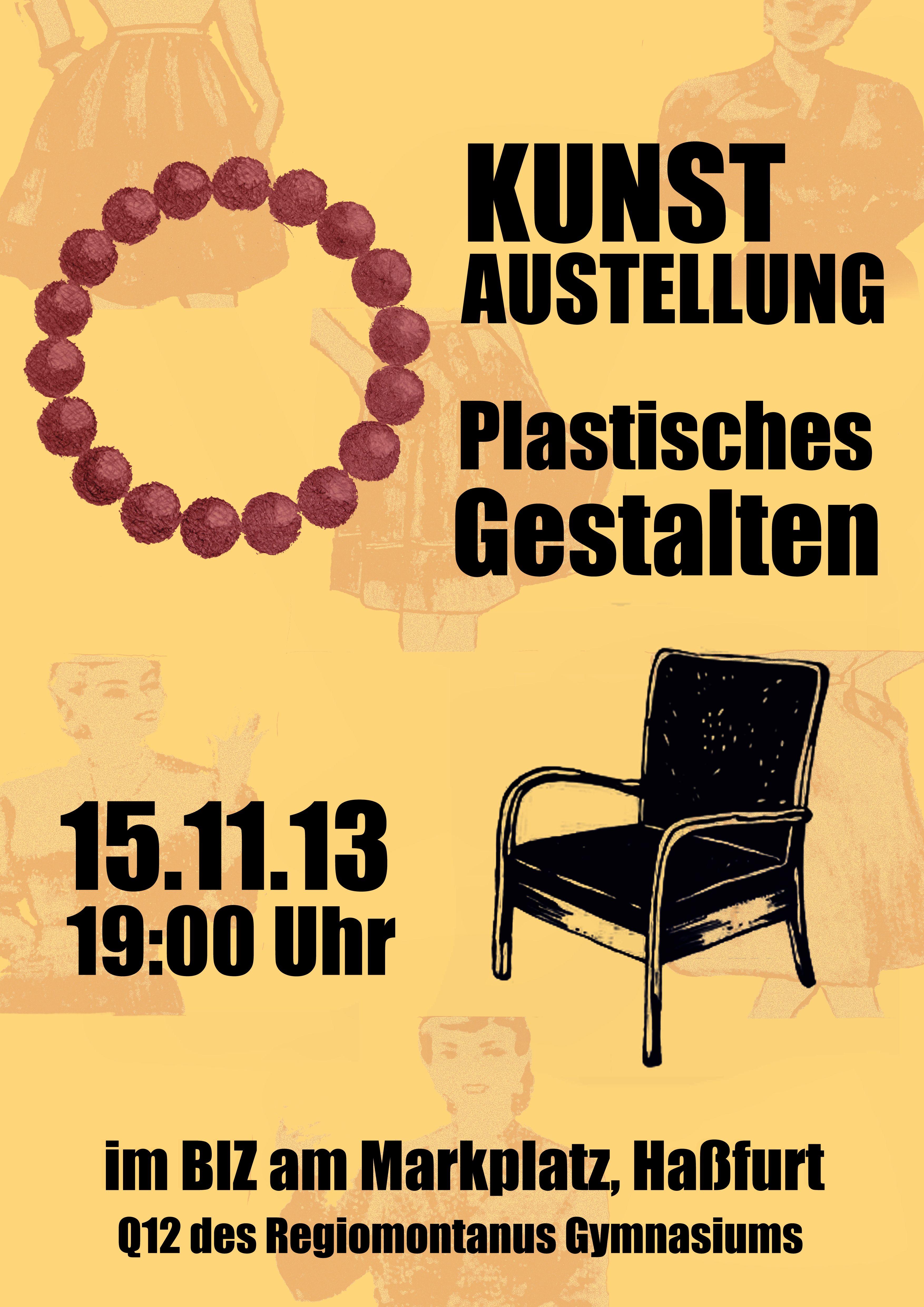 Plakatdesign für P-Seminar
