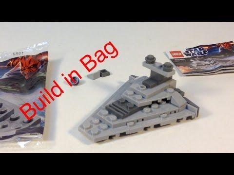 LEGO Star Wars 30056 Star Destroyer BUILD IN THE BAG!! polybag