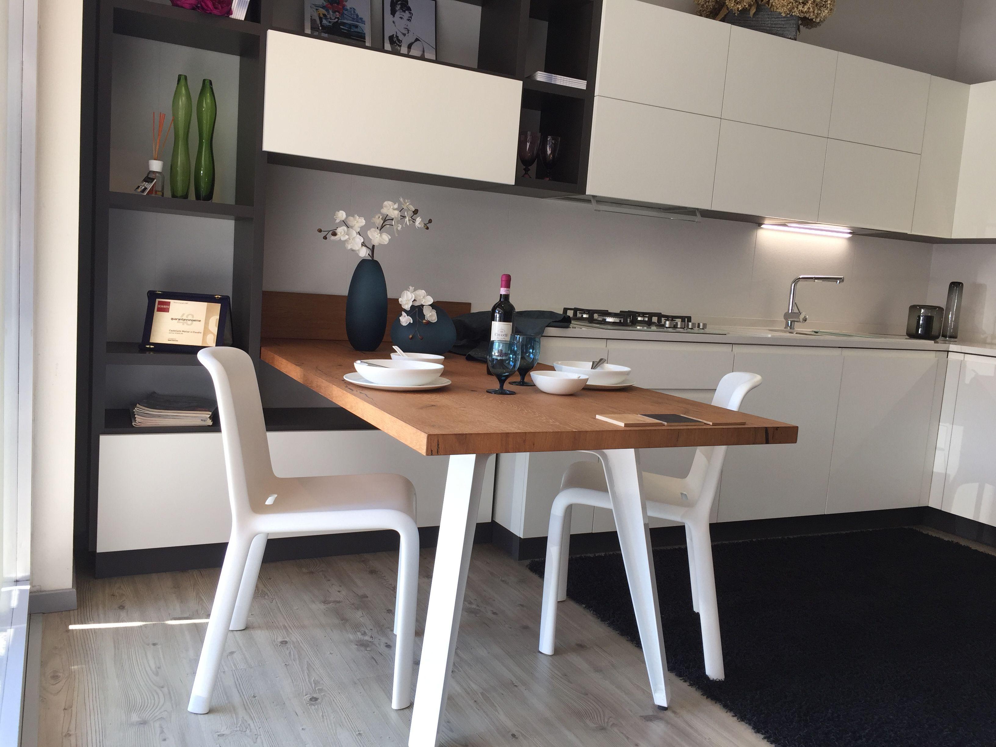 Tavoli Da Cucina Scavolini : Cucina #scavolini modello #motus: anta decorativo bianco puro