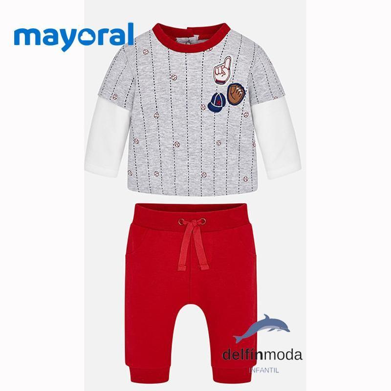 027406475ec Chandal de bebe MAYORAL para niño