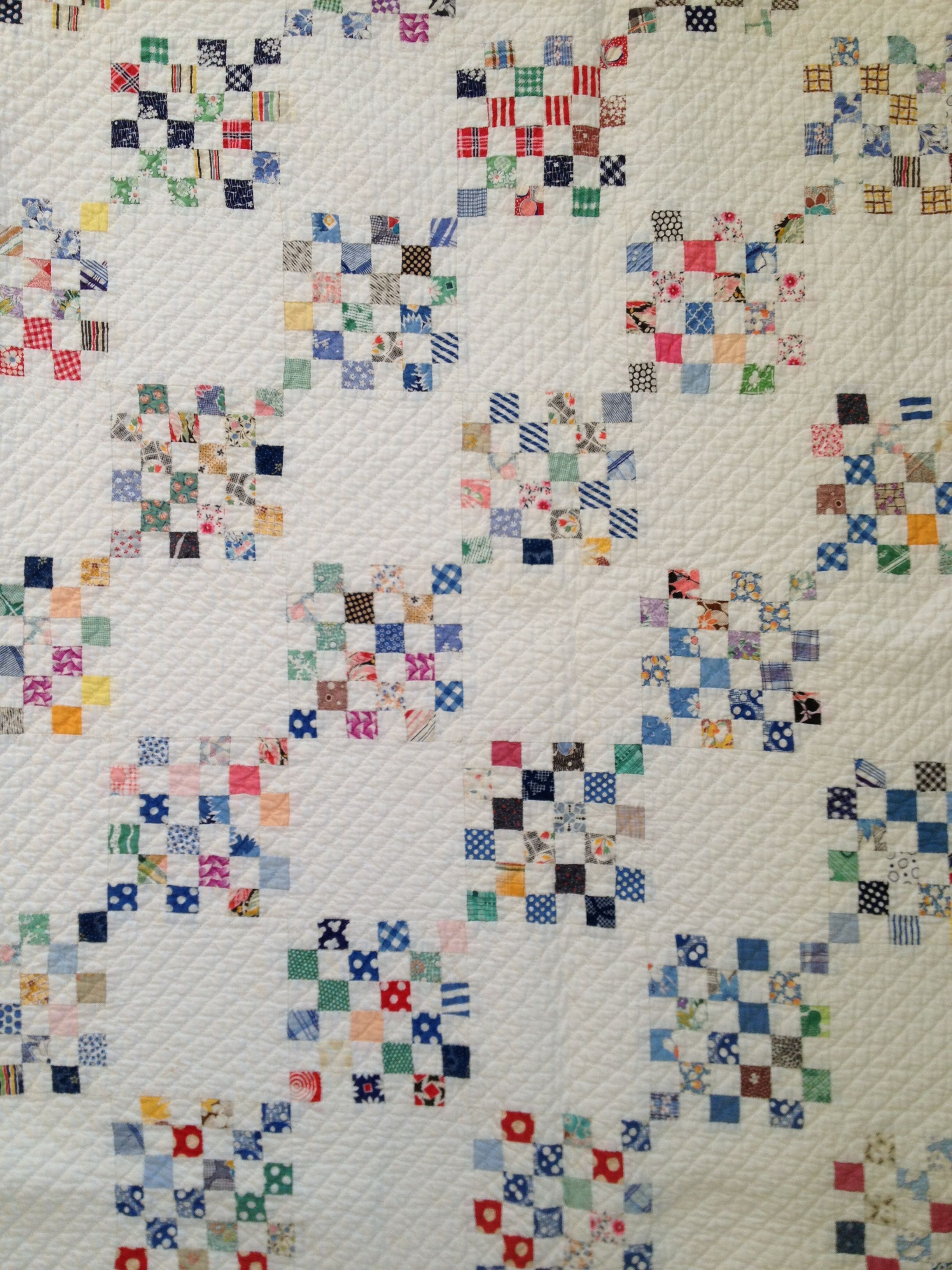 Stunning Postage Stamp Quilt Don T Think I Can Part With
