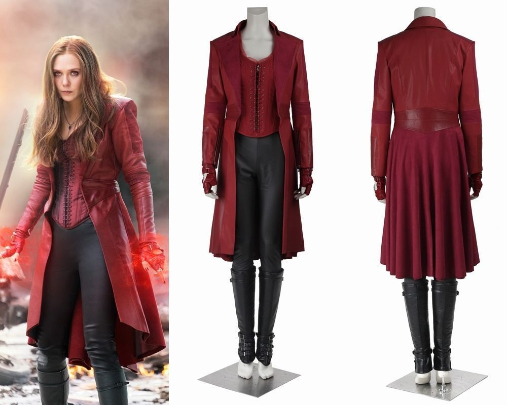 Scarlet Witch Costume Diy Www Topsimages Com
