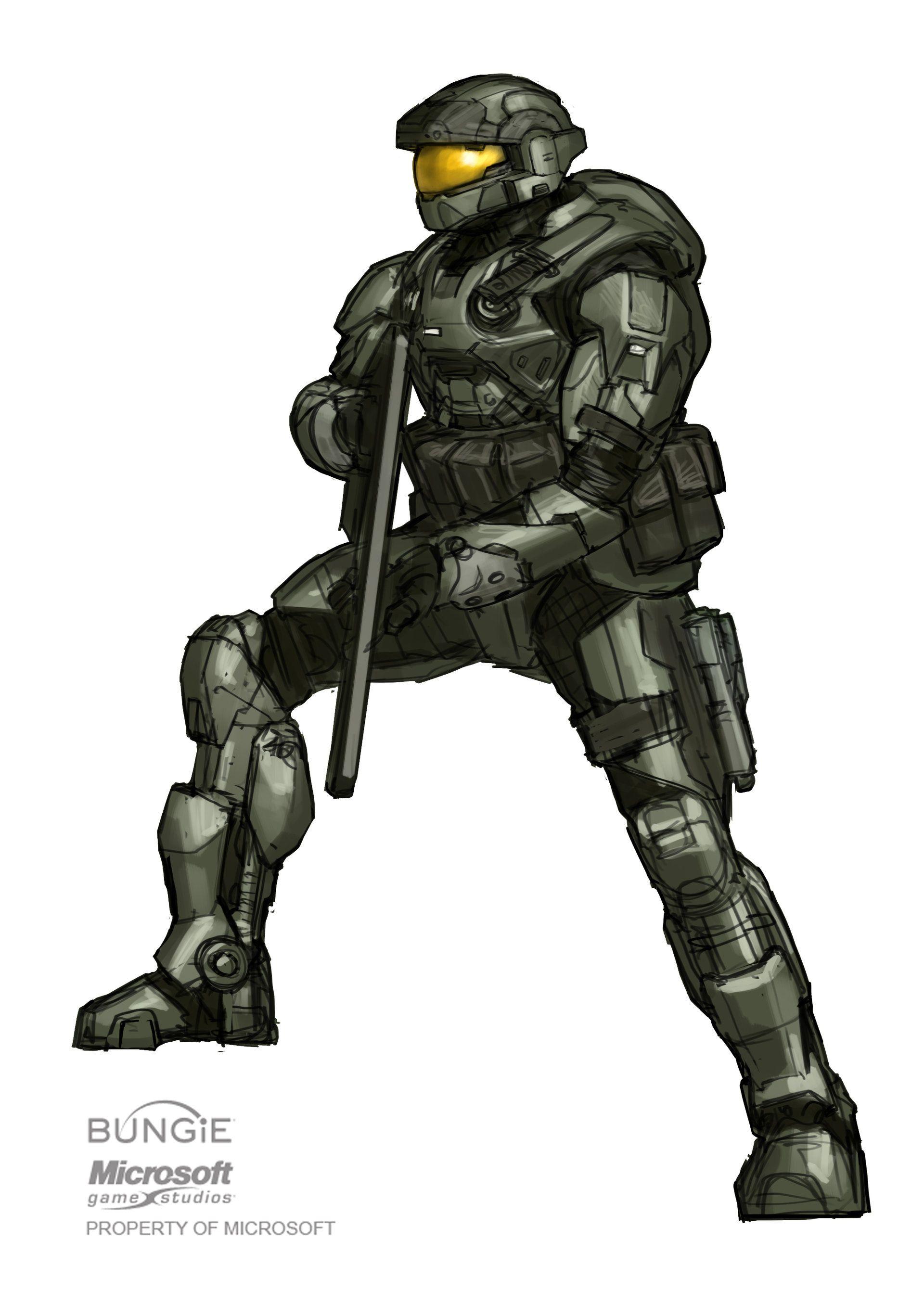 Halo reach spartan halo imagenes halo halo armaduras - Master chief in halo reach ...