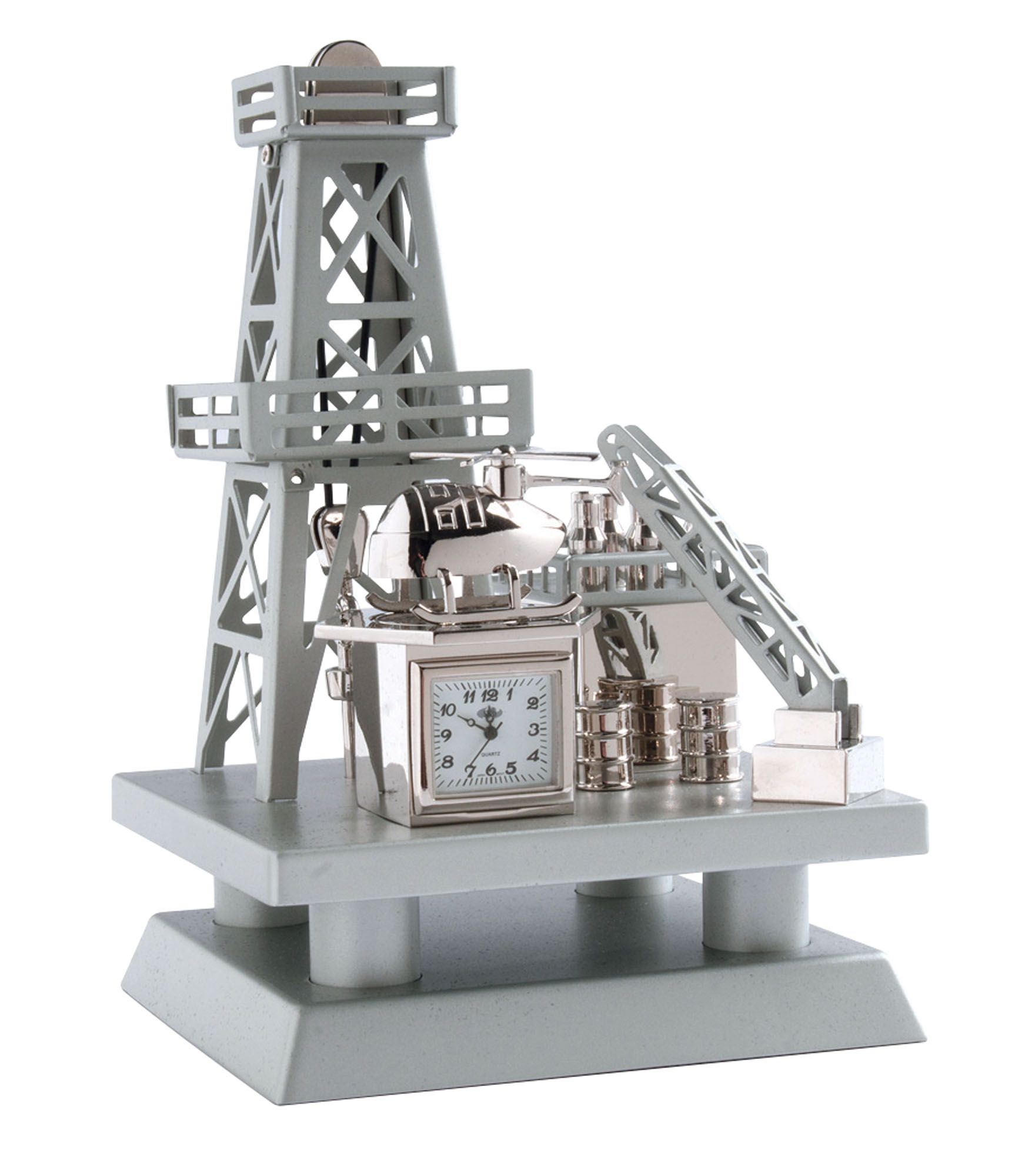 Very Unique Gift For Grads Makes A Great Desk Paperweight Too Graduation Gifts Off S Rig Clock Silver