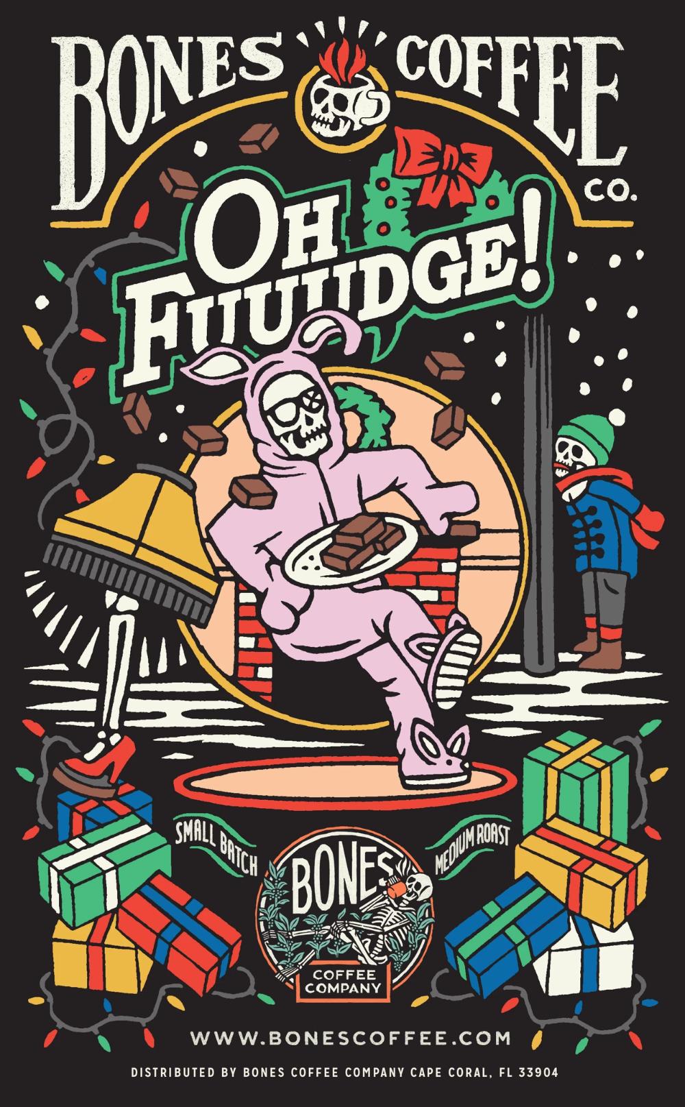 Oh Fuuudge! Bones Cups 12 Count Bones Coffee Company