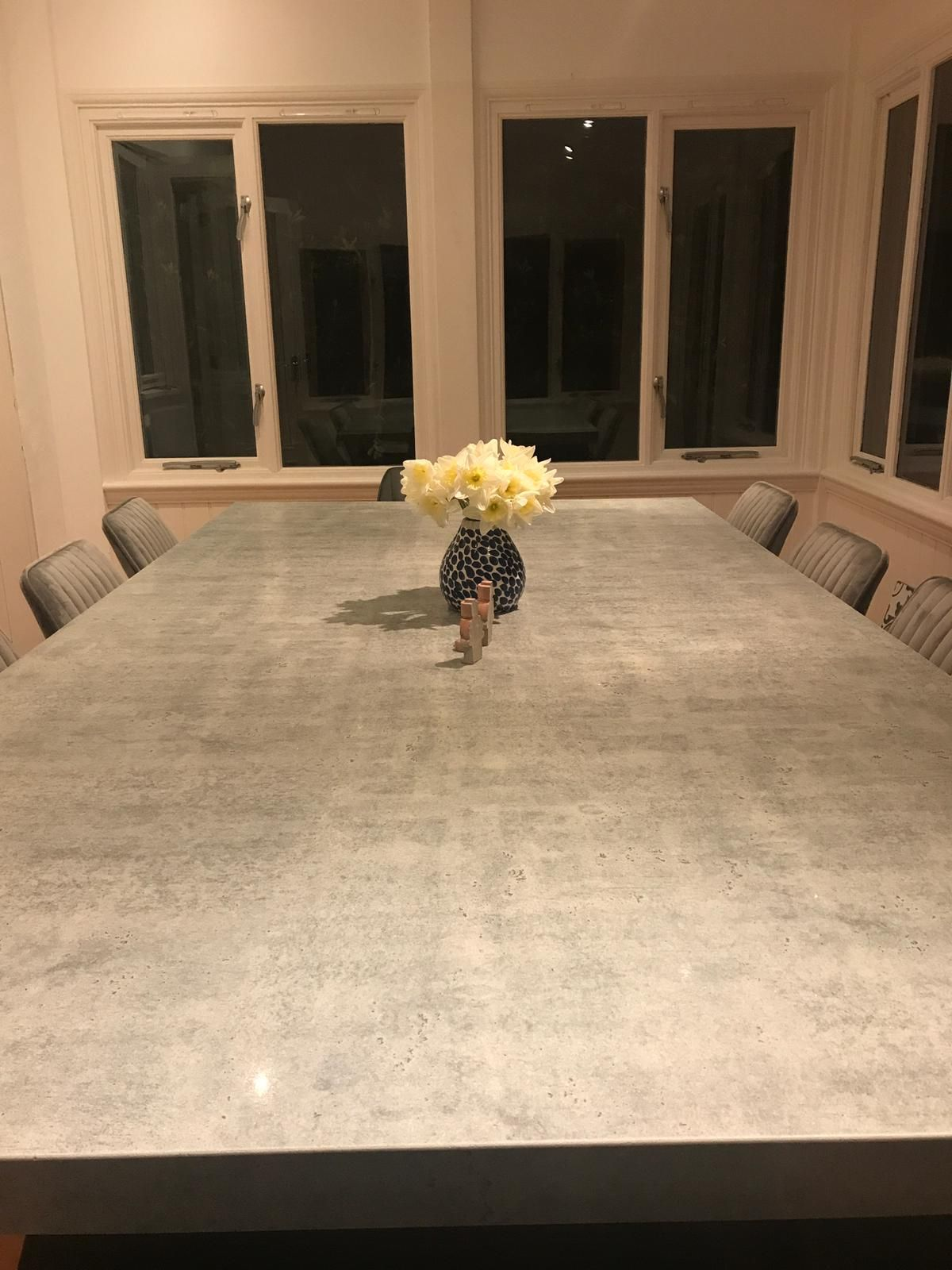 Granite Transformations Table Dining Table Bespoke Dining Table Side Chairs Dining