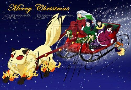 Merry Christmas // InuYasha   ♥ ani Christmas ^^   Pinterest ...
