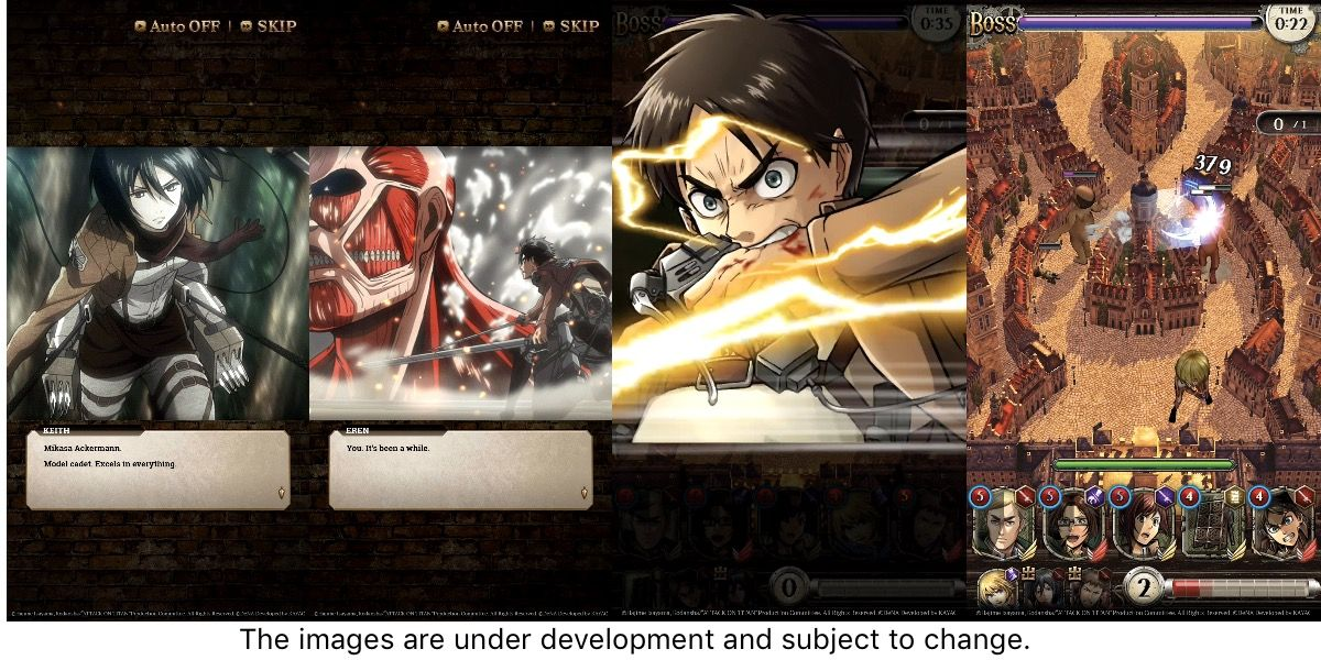Attack On Titan Tactics Is A New Rts Game From Dena For Ios And