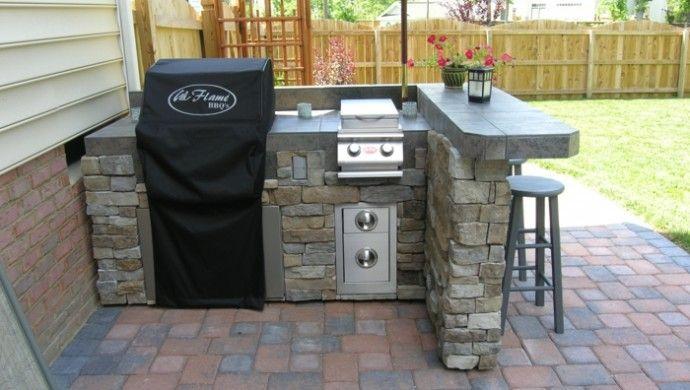 diy ideen außenküche selber bauen Outdoor Küche Pinterest - outdoor küche selber bauen