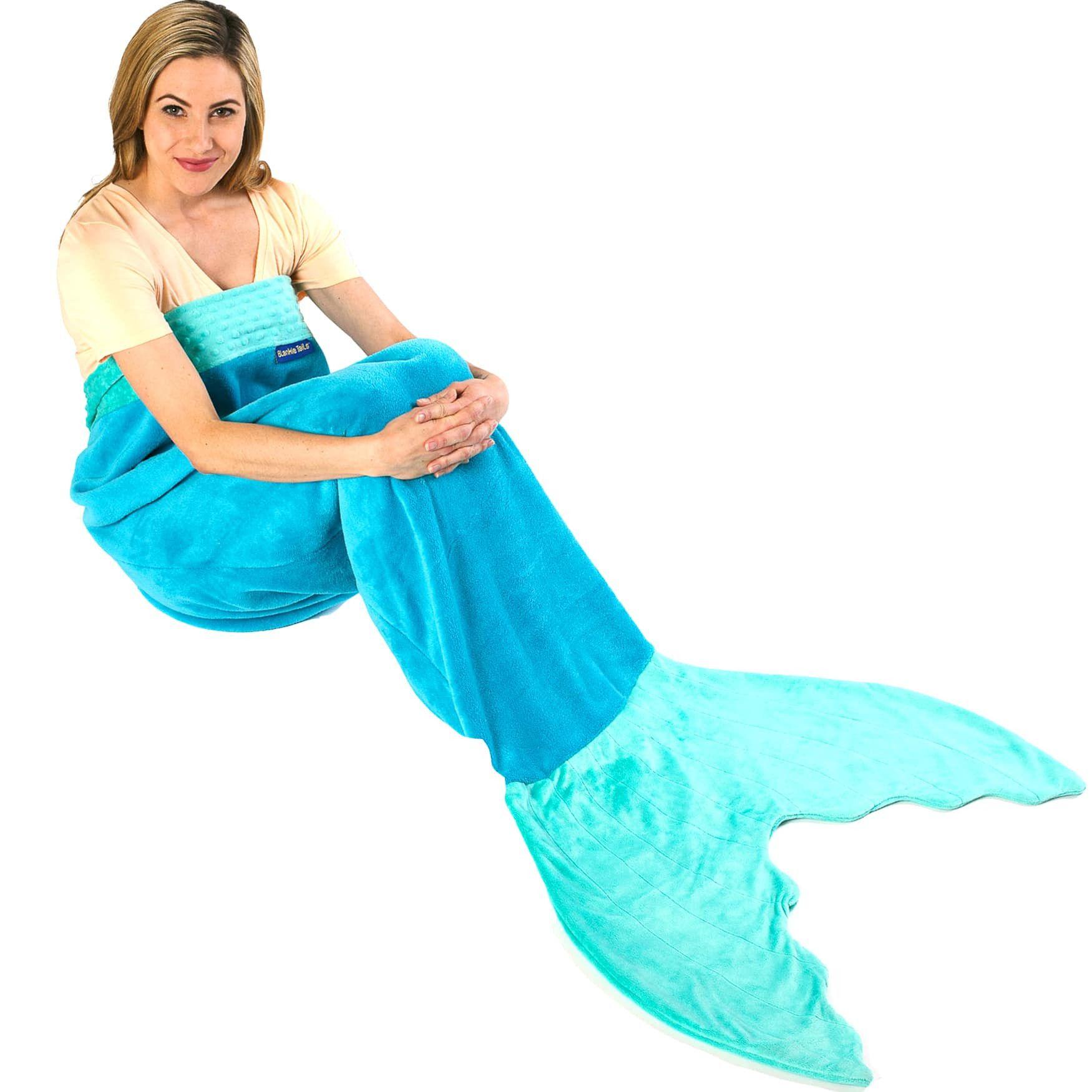 Adult/Teen Mermaid Blanket by Blankie Tails® - Assorted Colors