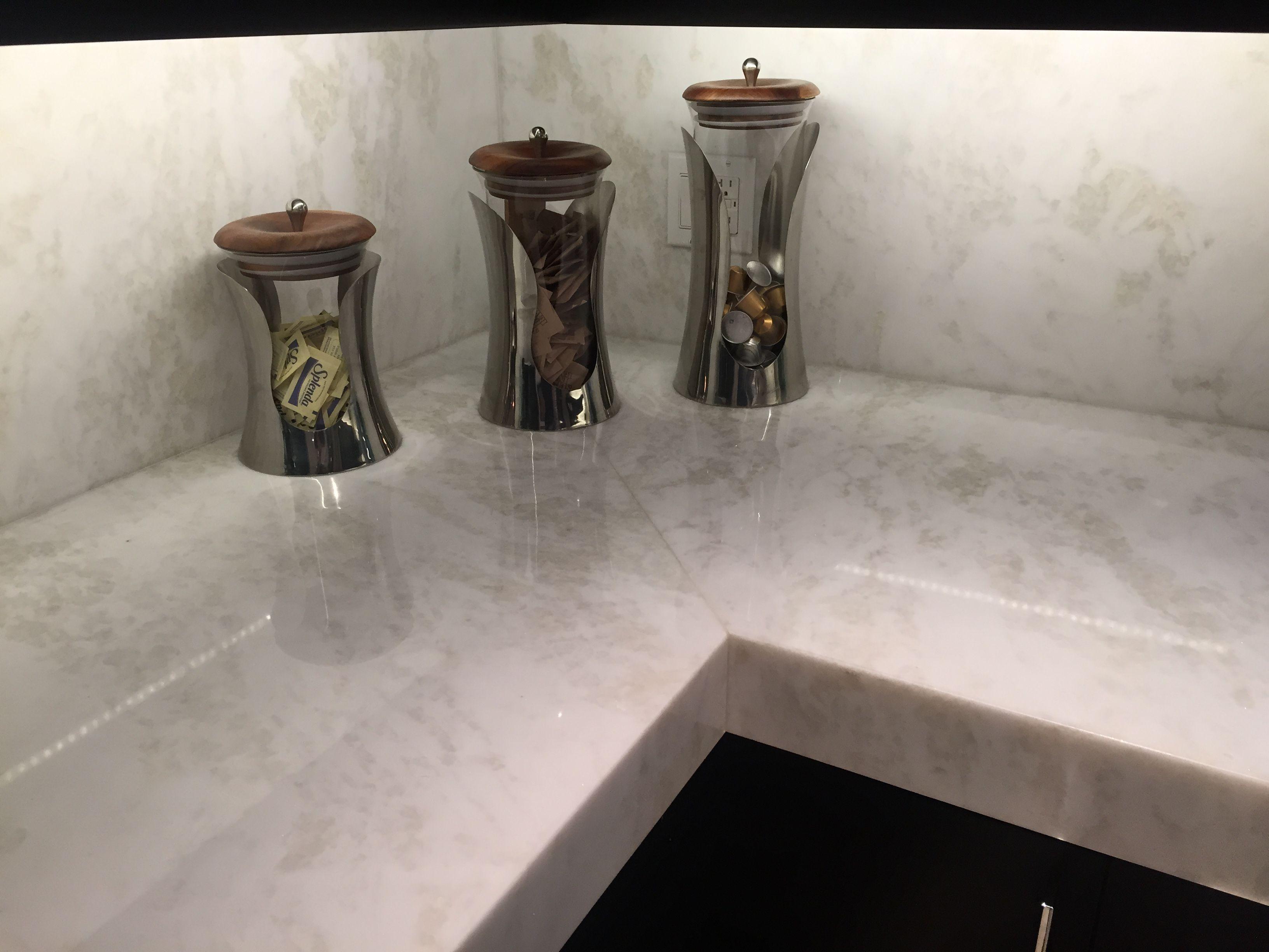 Mystery White Marble Slab Kitchen Countertop South Miami Marmol